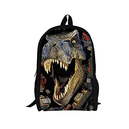 HUGSIDEA-Cool-3D-Animals-Children-School-Book-Bag-Kids-Printing-Backpacks