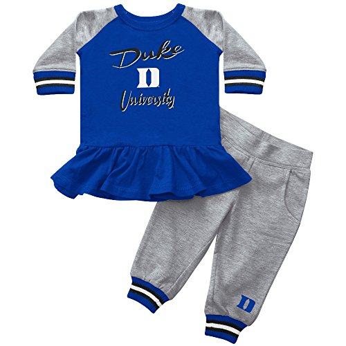 [Blue Devils Girl Team Dress with Joggers, 12-18M] (Devil Girl Outfit)
