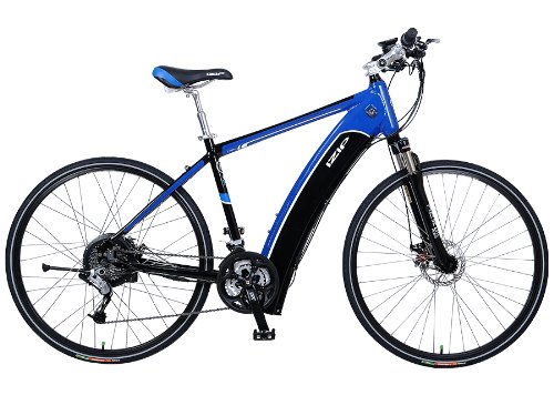 IZIP E3 Ultra Electric Road Bike Diamond Frame, L - Black/Blue