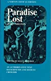 Paradise Lost (Norton Critical Editions) (0393092305) by John Milton