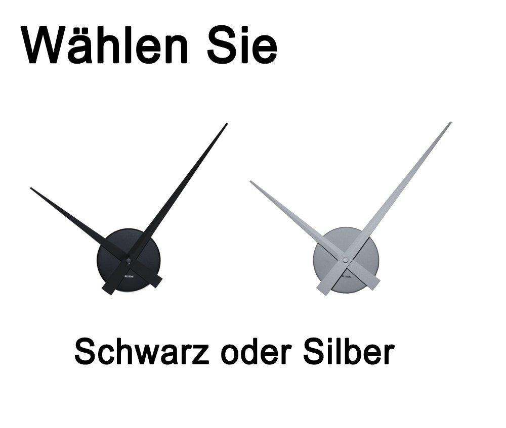 Wandsticker Uhr