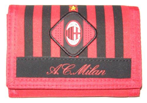 Tri-Fold Velcro Wallet of AC Milan
