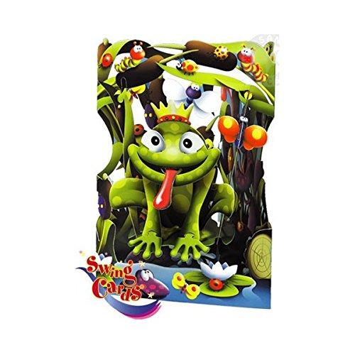 Frog Swing Card