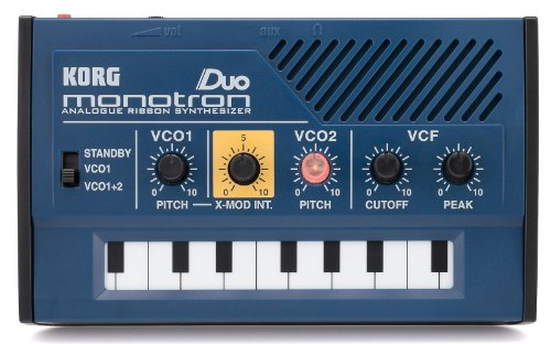 Read About Korg MONOTRONDUO 0-Key Dual Oscillator Analog Pocket Synthesizer