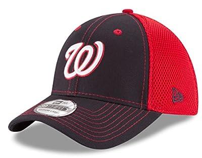 Washington Nationals New Era MLB 39THIRTY Team Front Neo Flex Fit Hat