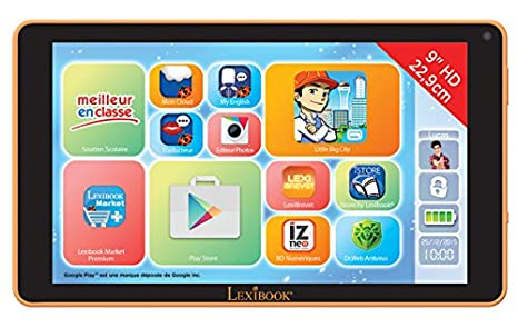 Lexibook - Mfc191fr2 - Tablette Tactile - Fluo Xl