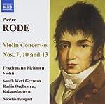 Pierre Rode : Concertos pour violon n...