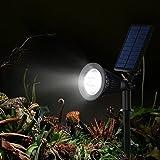 Upgraded-200-LumenVicTsing-Solarbetriebene-LED-Solarleuchten-Gartenleuchten-Solarlampe-Aussenleuchten-Auenleuchte-Wasserdicht-Spotlight-fr-Garten-Outdoor-Landscape-Baum-Auffahrt-Yard-Rasen-Pathway-4-S