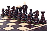 The Kasbah - Unique Wood Chess Set w Board and Storage