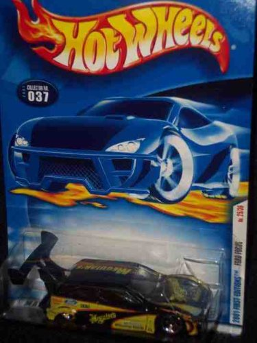 2001 First Editions -#25 Ford Focus #2001-37 Collectible Collector Car Mattel Hot Wheels - 1