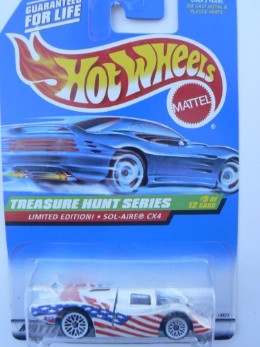 Hot Wheels Treasure Hunt Series Sol-Aire CX4, #757, #9 of 12 - 1