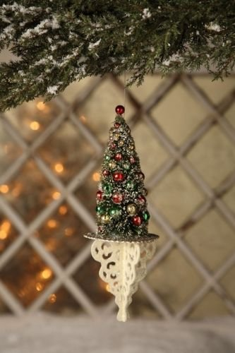 Bethany Lowe Christmas – Christmas Tree Filigree Ornament – LO0849