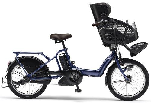 YAMAHA(ヤマハ) PAS Kiss mini 20インチ 電動自転車 2014年モデル [8.7Ahバッテリー、内装3段変速、オートライト機能、急速充電器付き] ナイトサファイア PM20K