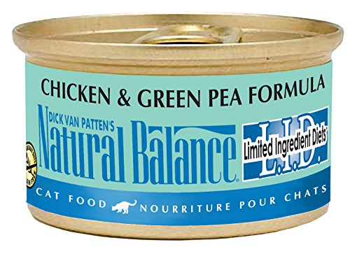 Natural Balance Limited Ingredient Diets Chicken & Green Pea Canned Cat Formula
