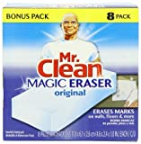 Health & Beauty Online Shop Ranking 9. Mr. Clean Magic Eraser Cleaning Pads, 8-Count Box