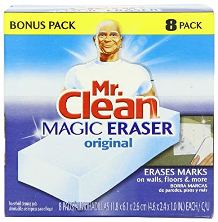 8-pack Mr. Clean Magic Eraser Cleaner Cleaning Pads $5.65