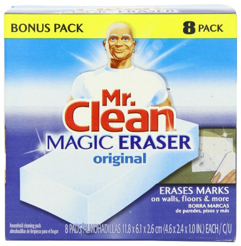 Mr. Clean Magic Eraser Cleaning Pads, 8-Count Box