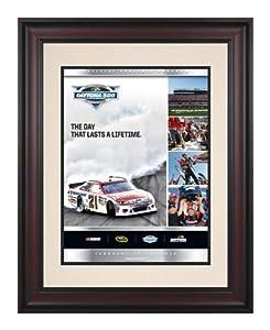 Framed 10 1 2 x 14 54th Annual 2012 Daytona 500 Program Print - Mounted Memories... by Sports Memorabilia