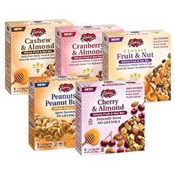 Fruit & Nut Bar Variety Pack of 5