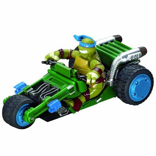 Carrera-Of-America-Teenage-Mutant-Ninja-Turtles-Leonardos-Trike-Slot-Car-143-Scale