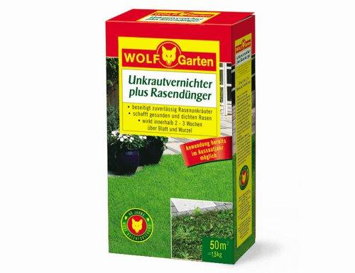 wolf garten unkrautvernichter plus rasend nger lq 50 f r 50 qm. Black Bedroom Furniture Sets. Home Design Ideas