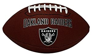 K2 Oakland Raiders Game Time Full Size Football at Sears.com