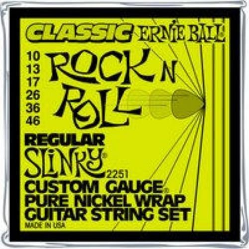 Ernie Ball 2251 Ernie BallClassic Rock N' Roll