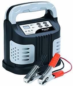 Einhell BT-BC 12 D-SE Batterieladegerät, 2 A/6 A/12 A Ladestrom, LED-Anzeigen, Ladeautomatik, Fehlerdiagnosesystem