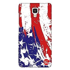 Designer Xiaomi MI 4 Case Cover Nutcase USA Flag