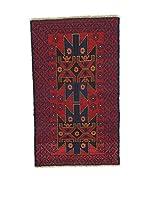 L'Eden del Tappeto Alfombra Beluchistan Rojo / Azul Oscuro 142  x  84 cm