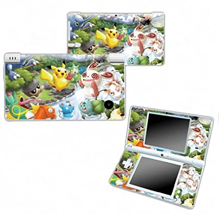 POKEMON PIKACHU Design Nintendo DSI NDSI DSi NDSi Vinyl Skin Decal Cover Sticker Protector (Matte Finish)+ Free Screen Protector