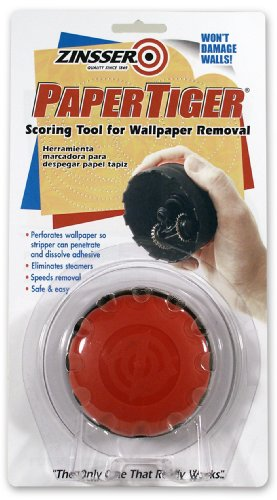 Zinsser 2966 PaperTiger Scoring Tool for Wallpaper Removal Single Head