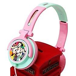 Disney POR 218 headphones with Mic and Volume Control