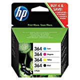 HP - Hewlett Packard PhotoSmart 5510 e-All-in-One (364 / J3M82AE) - original - Ink cartridge multi pack (black, cyan, magenta, yellow)