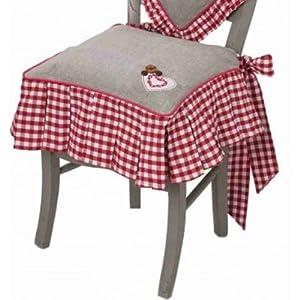 Liste d 39 envies de titouan h rouge cuisine table top moumoute - Galette de chaise avec scratch ...