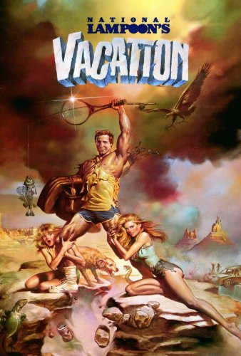 National Lampoon's Vacation Poster 27x40 Chevy Chase Beverly D'Angelo Imogene Coca