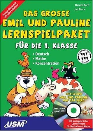 Emil & Pauline - Lernspielpaket 1. Kl.