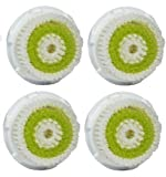 Maeline Replacement Brush Head for Acne Cleansing (GENERIC) - 4pc Pack