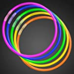 "50 22"" Premium Glow Stick Necklaces A..."
