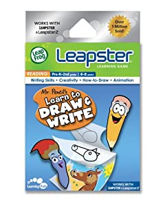 LeapFrog Leapster Game: Mr Pencil's Learn to Draw & Write