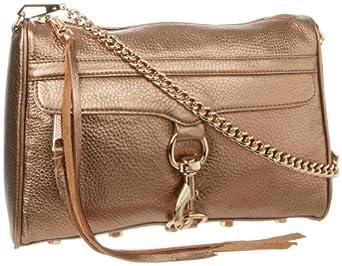 Rebecca Minkoff MAC H045I001 Convertible Cross-Body Handbag,Bronze,One Size