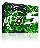 2015 Bridgestone E5 High Flight 2-Piece Mens Golf Balls DOZEN - White