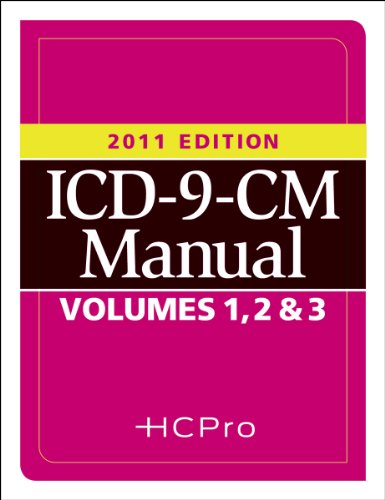 2011 ICD-9 Volumes 1, 2 and 3