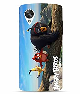 Case Cover Angry Bird Printed Colorful Hard Back Cover For LG Google Nexus 5X