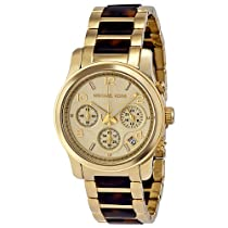 Hot Sale Michael Kors MK5659 chronograph champagne dial stainless steel bracelet women watch NEW