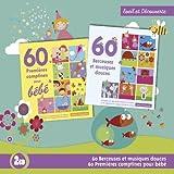 echange, troc Compilation - 60 Premières Comptines Pour Bébé - 60 Berceuses Et Musiques Douces
