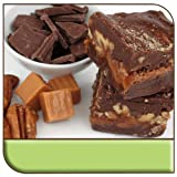 Mo's Fudge Factor, Chocolate Caramel Pecan Fudge 1 pound