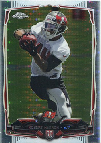 chrome-football-2014-pulsar-refracteur-card200-robert-herron-tampa-bay-buccaneers