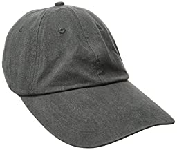 Adams Optimum Pigment Dyed Twill Cap (Charcoal) (ALL)
