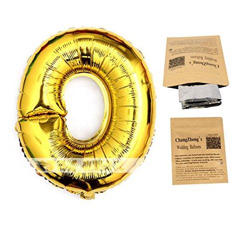 "Helium Foil Digital balloons ,birthday holidays weddin party supply Golden 40""0"
